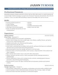 Optical Assistant Sample Resume Fcsosyal Com