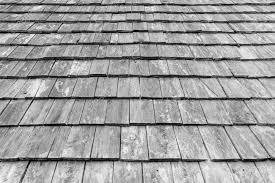 Legno Bianco Nero : Modello vecchio tetto di legno bianco e nero foto royalty free