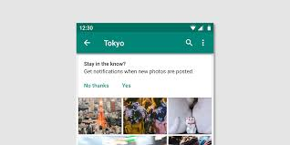 In App Notification Design Android Notifications Material Design