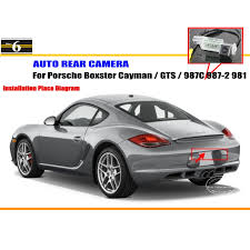 porsche cayman promotion shop for promotional porsche cayman on car camera for porsche boxster cayman gts 987c 987 2 981 rear view camera hd ccd rca ntst pal license plate light oem