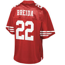 Breida Scarlet Francisco Matt Player 49ers Nfl Line Youth San Jersey Pro cececccdcecb|Game Preview: Patriots Vs Browns