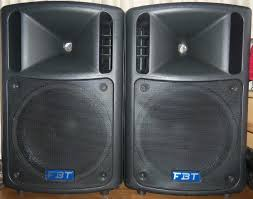 speakers for sale. fbt maxx 6a powerwed speakers for sale