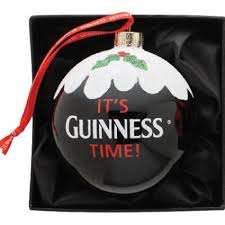 Guinness Pint Bauble ornament