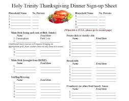 Thanksgiving Menu Template Erieairfair