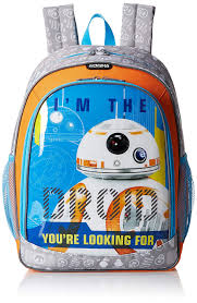 Bb8 Light Up Backpack American Tourister Star Wars Backpack Bb8 Amazon Co Uk