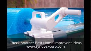 above ground pool solar covers. Above Ground Pool Solar Blanket Reel Covers