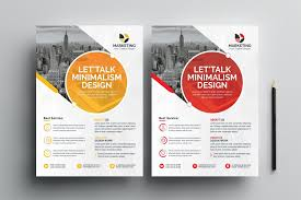 Flyer Formats Psd Excellent Business Flyer Templates 002843 Template