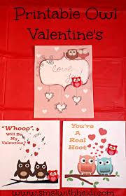 owl valentine s day cards to print. Exellent Valentine Printable Owl Valentines Day Cards In Valentine S To Print 2