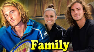 Stefanos Tsitsipas Family With Father,Mother and Girlfriend Maria Sakkari  2020 - YouTube