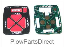 circuit board for hand held cab command controls 56472 western hand held control pc board
