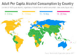 World -- In Fool Are Motley The These Drunkest Countries