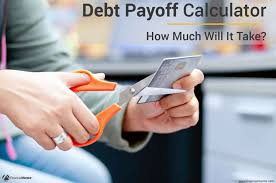 How To Payoff Credit Card Debt Calculator Debt Payoff Calculator