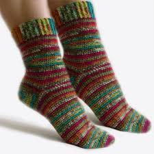 Easy Crochet Socks Pattern