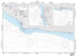 Nga Chart 21524 Approaches To Acajutla And La Libertad