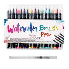 <b>Painting</b> Pen ainting Brush Sketch Manga Pen <b>Paint 20 Colors</b> ...