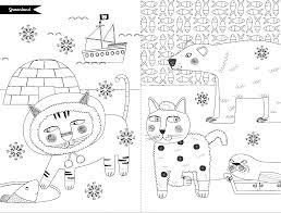Le Groenland Les Chats Du Monde Colorier D Emilie Lapeyre