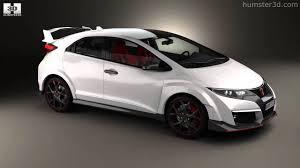 honda civic hatchback 2015. Brilliant Hatchback Honda Civic TypeR Hatchback 2015 By 3D Model Store Humster3Dcom In Hatchback