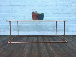 Industrial style furniture Australia Copper Coffee Table industrial Reclaimed Style Furniture Square One Interiors Ltd Square One Interiors Ltd Copper Coffee Table industrial Reclaimed Style Furniture Square