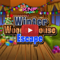 Wooden House Escape Game Walkthrough Knf Winter Wooden House Escape Walkthrough Escape Games 39