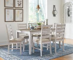 white and black dining room sets. Skempton White And Light Brown Dining Room Set Black Sets K