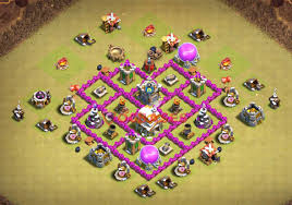 Clash Of Clans Th6 Base Design 13 Best Th6 War Base Links 2020 War Base Clash Of Clans