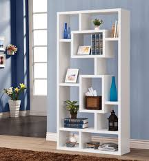 terrific modern white bookcase pics inspiration  surripuinet