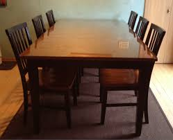 Wood desk with glass top Reclaimed Also Love Being Able To Wash The Table Something Rarely Did With Our Old Wood Table Water Is No Friend To Wood Finish But Can Wipe The Glass Down Earn1kdailyinfo We Put Glass Top On Our Wooden Kitchen Table Jill Cataldo