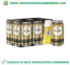Blikjes, aanbiedingen - Bier in de, aanbieding