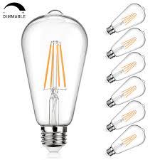 Light Bulb 100w Equivalent Vintage Led Edison Bulb 100w Equivalent 1100 Lumens