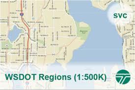 Wsdot Regions 1 500k Wsdot Geospatial Open Data Portal