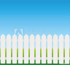 picket fence texture.  Fence White Picket Fence Comic Style Wooden Texture  Seamless Expandable  Isolated Vector Illustration Intended Picket Fence Texture
