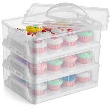 36 Cupcake Carrier Beauteous CE Compass Cupcake Carrier Holder Container Box 60 Slot 60 Tier