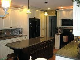 painted kitchen cabinets with dark granite countertops dark granite white cabinets white kitchen tour guest cream