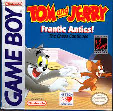 Tom And Jerry Frantic Antics Game