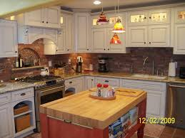 small rectangle wood butcher block islands with paper holder for fancy kitchen island idea