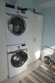 Samsung stacking washer and dryer and Ikea wardrobe. Laundry Room ...