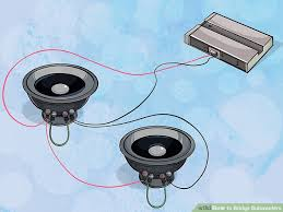 ways to bridge subwoofers wikihow image titled bridge subwoofers step 10