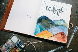 art cover page ideas travel journal ideas tips and travel size art supplies for on the