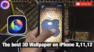 The best 3D live wallpaper on iPhone X ...