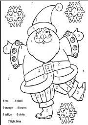 Small Picture English teaching worksheets Santa Claus