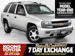 Used 2007 Chevrolet TrailBlazer LS For Sale in Westminster MD ...