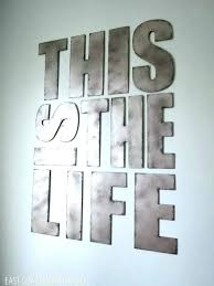 large decorative letters for walls metal wall decor eat vintage new large decorative wall letters decorating