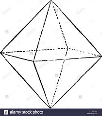 Diagram Of A Pyramid An Octahedron Or Double Pyramid Diagram With Four Sides It