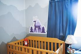 decorate a nursery with wall decals