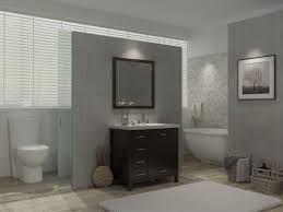cambridge 37 inch single bathroom vanity set right offset sink
