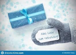 Türkis Geschenk Handschuh Geburtstag Bedeutet Alles Gute