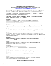 Job Application Objectives Purpose Of Objective In Resume Awesome Collection Good Job Example