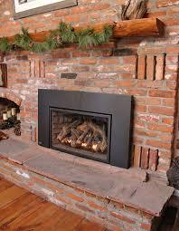 installation of gas fireplace insert off of rt 67 sedalia