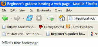 Beginners Guides: Website Hosting From A Home PC - PCSTATS.com