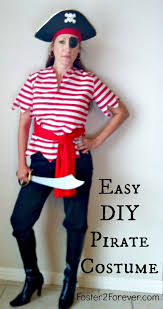 here is a cute diy homemade pirate costume idea for women happy great